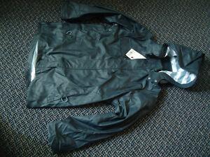 Boys Size 12 Navy Hatley Rain Coat With Detachable Hood