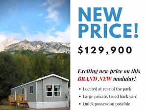 NEW PRICE! Fernie BC - Brand New Mobile Home on Private Lot