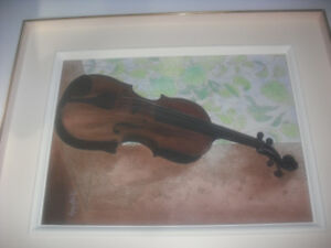 Aquarelle violon