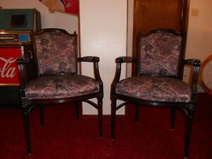 Pair of French Provincial Style Chairs