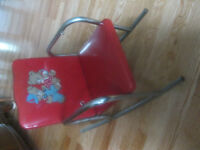 Small Chrome Rocking Chair