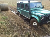 Landrover defender 110csw