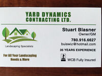 Landscaping professional