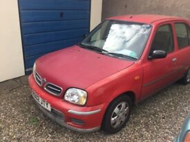 Nissan micra - good runner