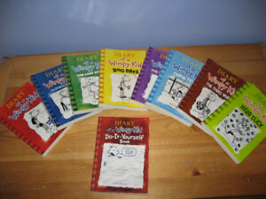 Diary of a Wimpy Kid Book Set - good condition !