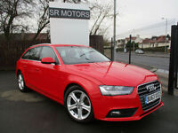2013 Audi A4 Avant 2.0TDIe ( 136ps ) SE Technik(SAT/NAV,LEATHER,HISTORY)