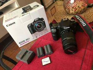 Canon 40D with Canon EF-S 55-250mm IS - great condition