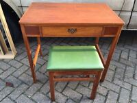 Dressing table and stool/ desk - Free delivery