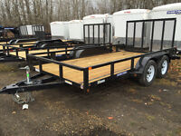 2016 SureTrac 7x16ft Tube Top Utility Trailer $4299