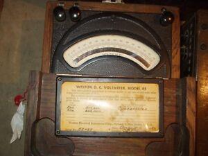 OLD AMP METER , ANCIEN AMPERMETRE Gatineau Ottawa / Gatineau Area image 3