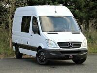 2012 Mercedes Sprinter 313 MWB - 2 BERTH MOTORHOME - HIGH SPECIFICATION - WHITE