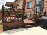 Deck, Fence, Shades Repair - Install