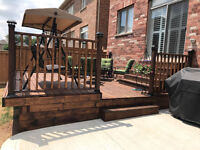 Deck, Fence, Basment Shades Repair - Install