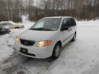 2001 Mazda MPV New Pix