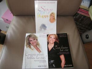3 livres de Christine Michaud Gatineau Ottawa / Gatineau Area image 1