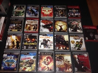 Jeux Playstation 3 (PS3) - Uncharted / Infamous / The Last of Us
