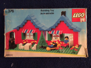 LEGO TOWN HOUSE WITH GARDEN #376