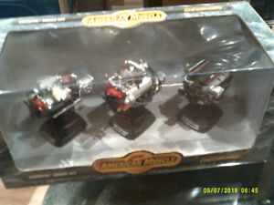 DIECAST 1/12TH SCALE 3 PC.SET CORVETTE  ENGINES  AMER.-  MUSCLE.