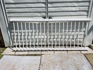 3 sections de rampes en aluminium
