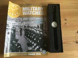 Military watches issue 17: French Seaman France 1940s