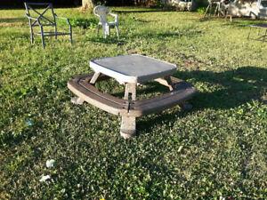 petite table pour enfants.