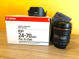 Canon EF 24-70 F4 IS Lens