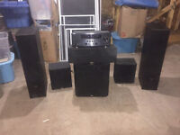 What a Deal:Yamaha Receiver HTR-6295 and Paradigm Sub & Speakers