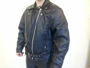 Hot Leathers Genuine Leather Motorcycle Suit Cambridge Kitchener Area image 5