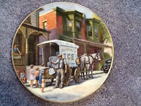 """""""Ice"""" Limited Edition Collector Porcelain Plates by Ted Xaras"""