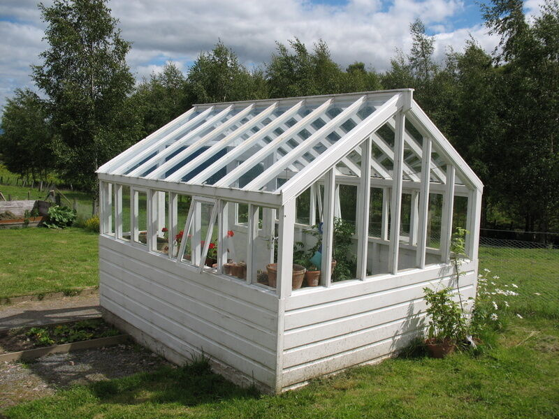 how to build a wooden greenhouse frame ebay