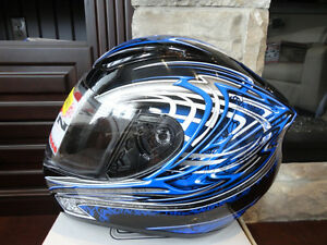 Zoan Revenge Helmet Size XS Blue w/4 Visors Included!! Brand New