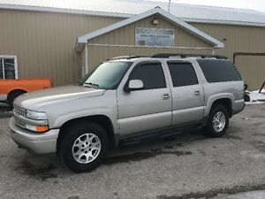 2004 CHEVROLET K1500 SUBURBAN 4X4 LEATHER RUST FREE CLEAN TRUCK