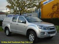 2013 / 63 Isuzu D-Max 2.5TD Eiger Double Cab 4x4 Pick Up Rear Canopy