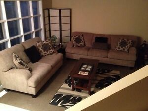 Couch and love seat no offers please London Ontario image 1