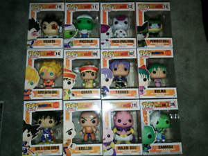 Dragon Ball Funko pops