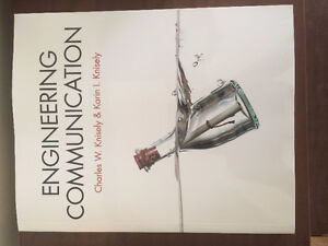 UNUSED Engineering Communications by Charles W. Knisely