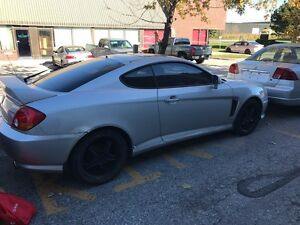 2004 Hyundai Tiburon Customized
