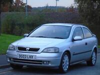 VAUXHALL ASTRA 1.6i 16v 2003 SXi,3 OWNERS,FULL MOT,EXCELLENT DRIVE