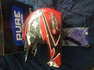 Polaris Racing helmet