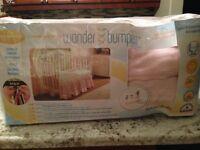 Wonder Bumpers - Pink & Cream