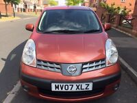 Nissan Note 1.6 excellent drive low genuine mileage HPI clear