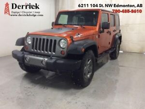 2010 Jeep Wrangler Unlimited   Used 4WD Wrangler Mountain Pkg To
