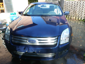 2007 Ford Fusion V6 for sale.