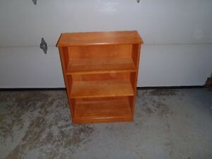Two 3 Shelf BookcasesTo Choose From