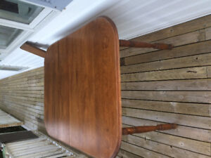 WOODEN TABLE PICK UP ONLY