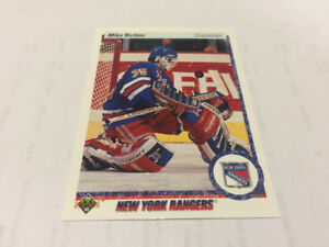 1990/91 UPPER DECK NHL HOCKEY CARD#32 MIKE RICHTER ROOKIE NM -MT