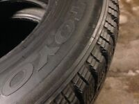 Toyo Winter Tires used 1 year only