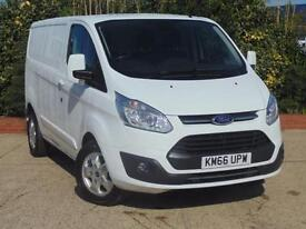 2016 Ford Transit Custom 290 L1 H1 Limited Van 130 PS Euro 6 Engine 4 door P...