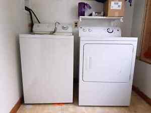 Maytag washer & GE dryer
