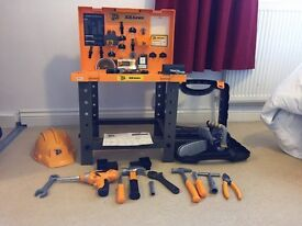 Child's JCB Workbench and Toolkit